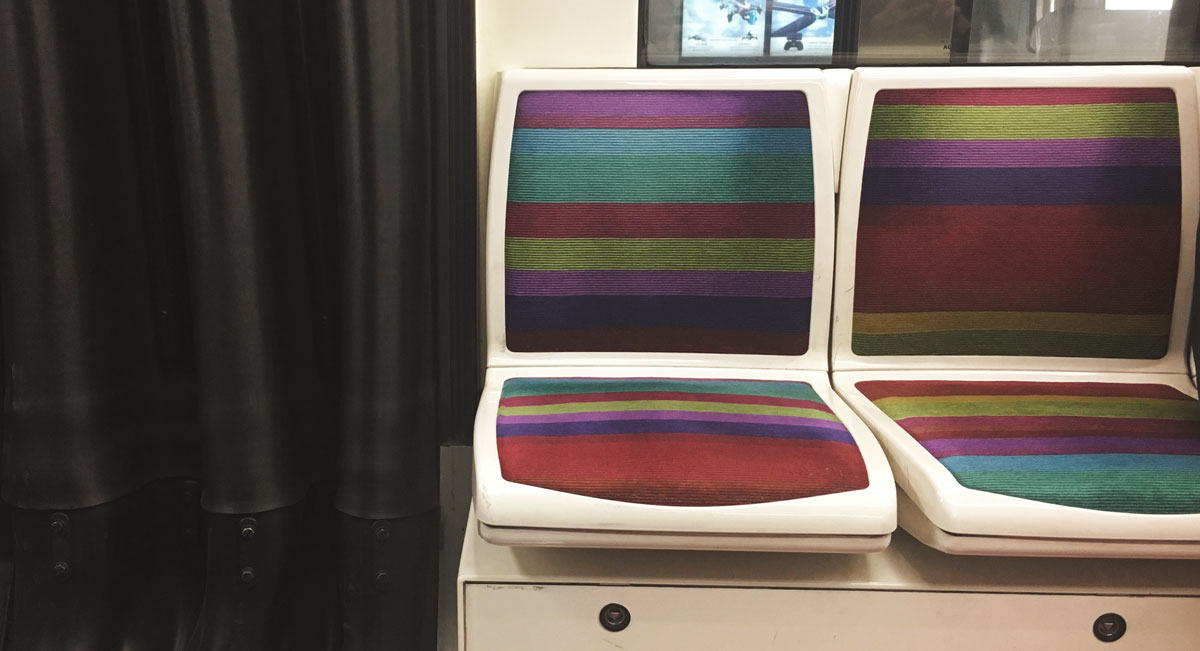 sièges métro