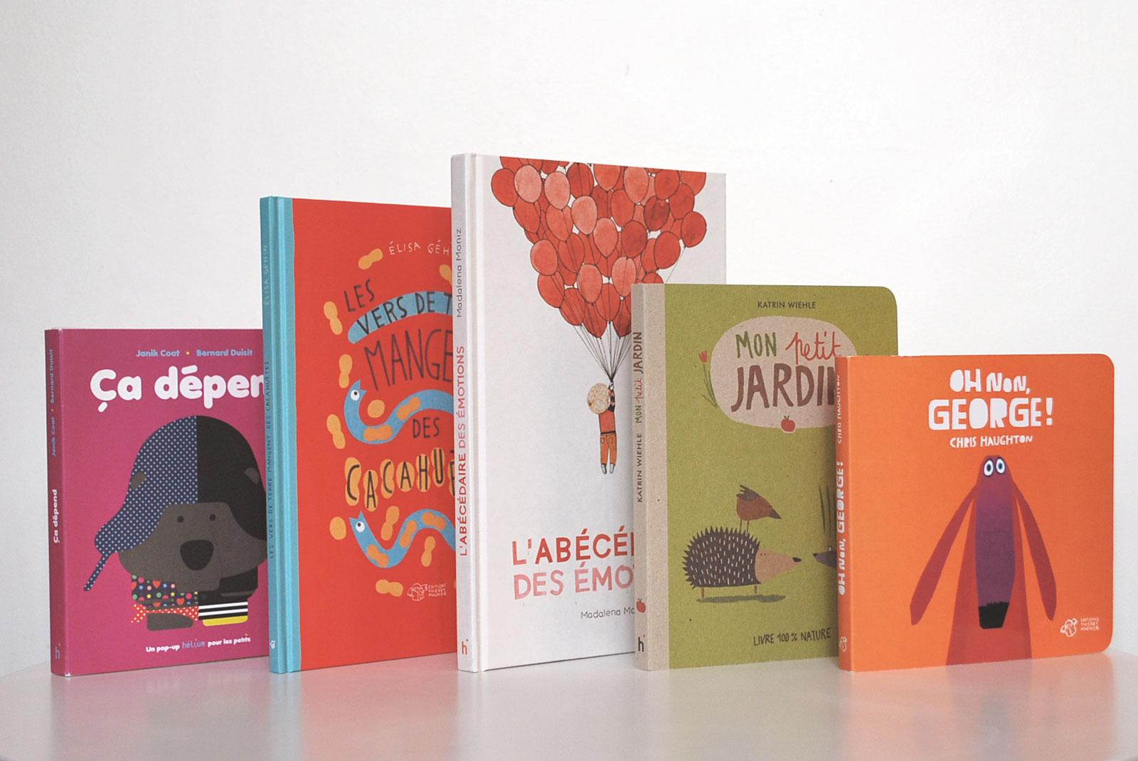 Couvertures livres pour enfant de 3ans