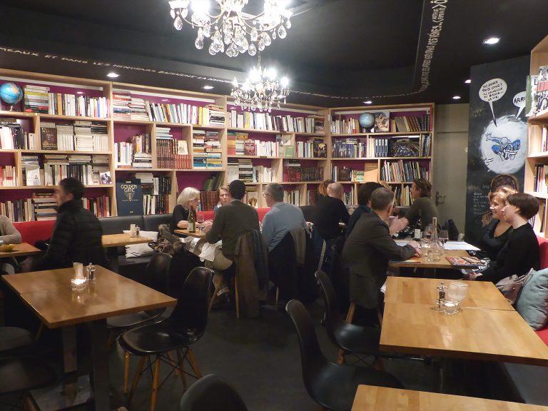 Restaurant La Librairie - livres bibliothèques