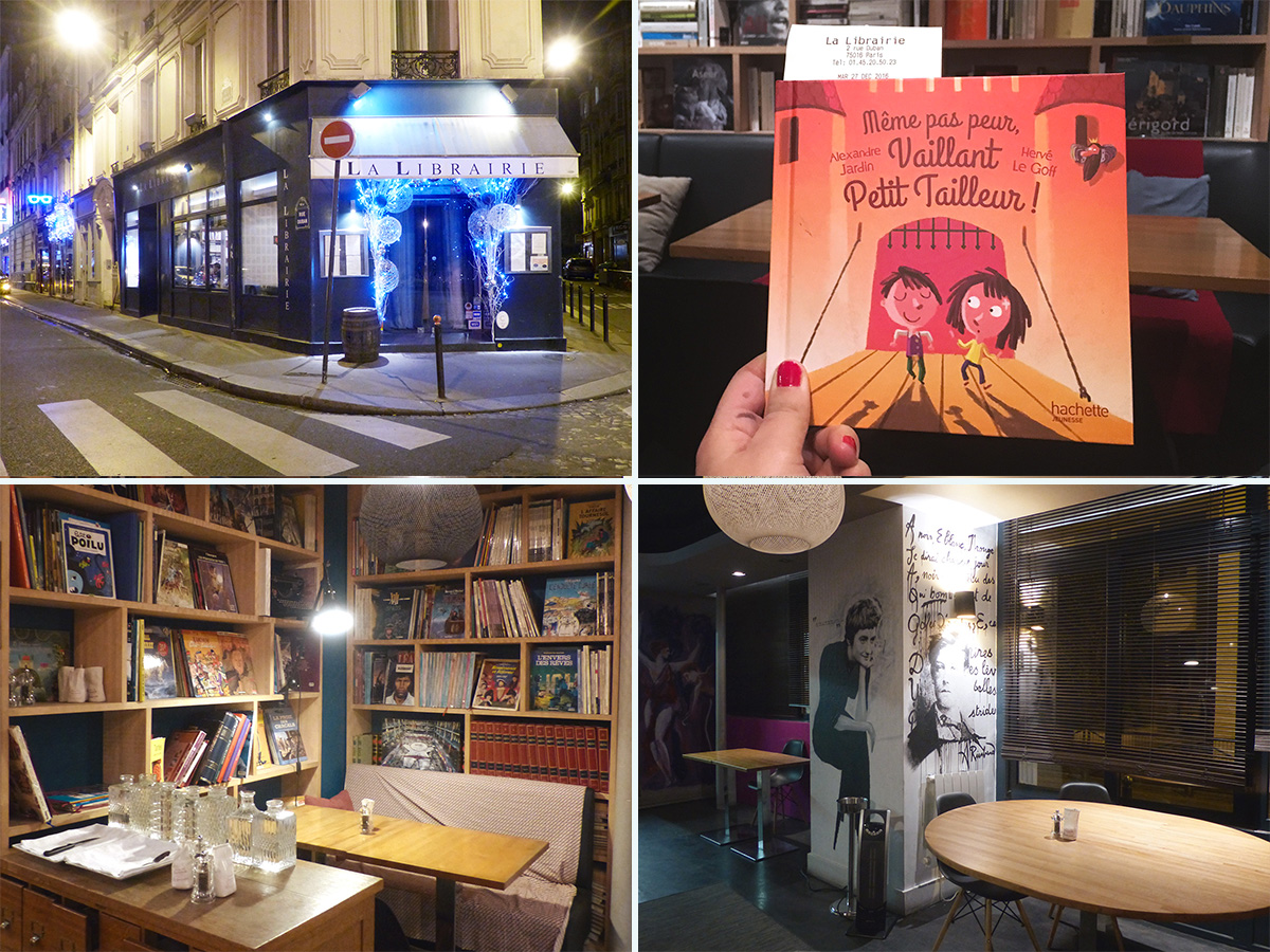 Restaurant La Librairie - 2 rue Duban 75016 Paris
