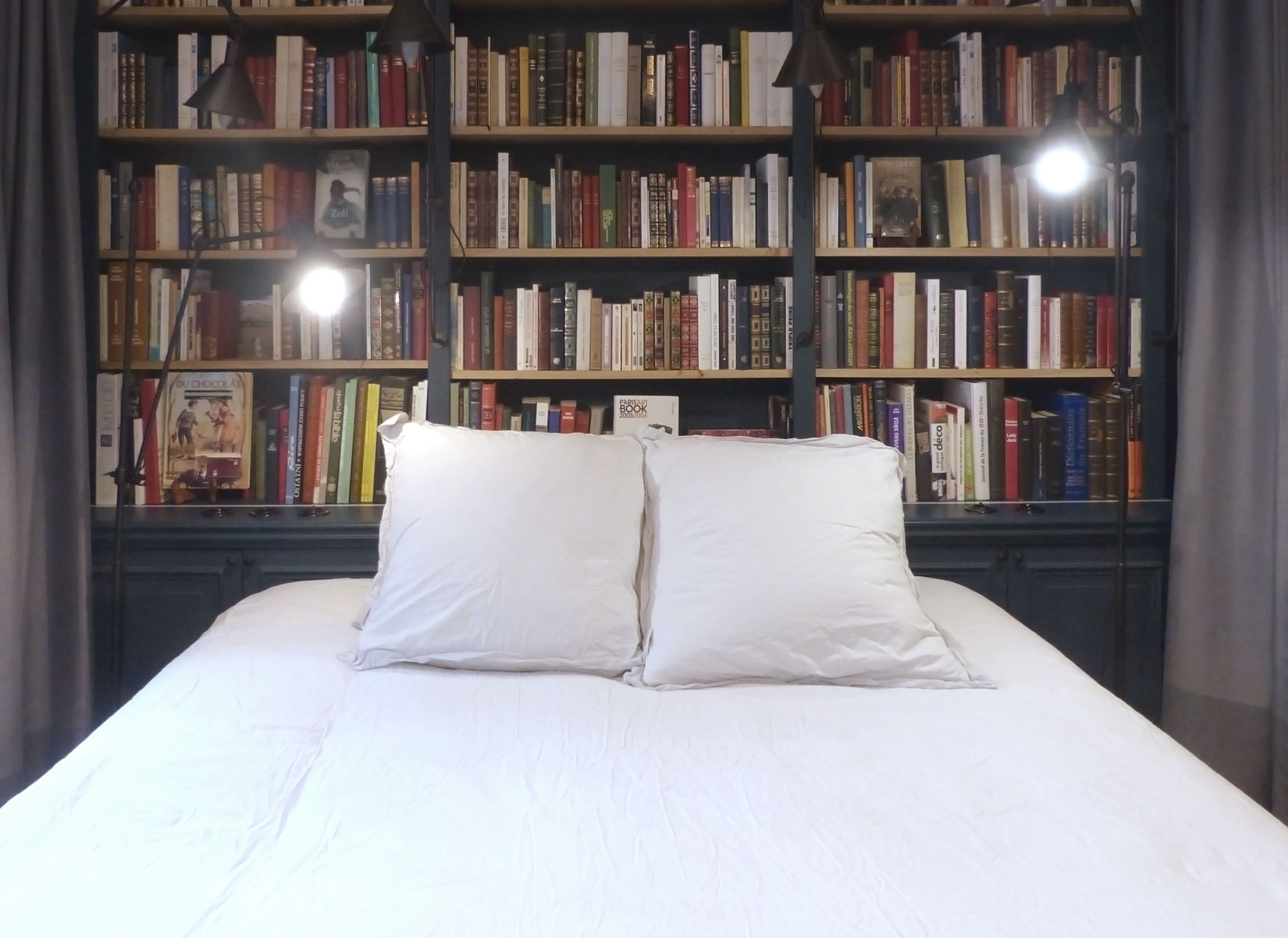 Paris Boutik - lit bibliothèque librairie