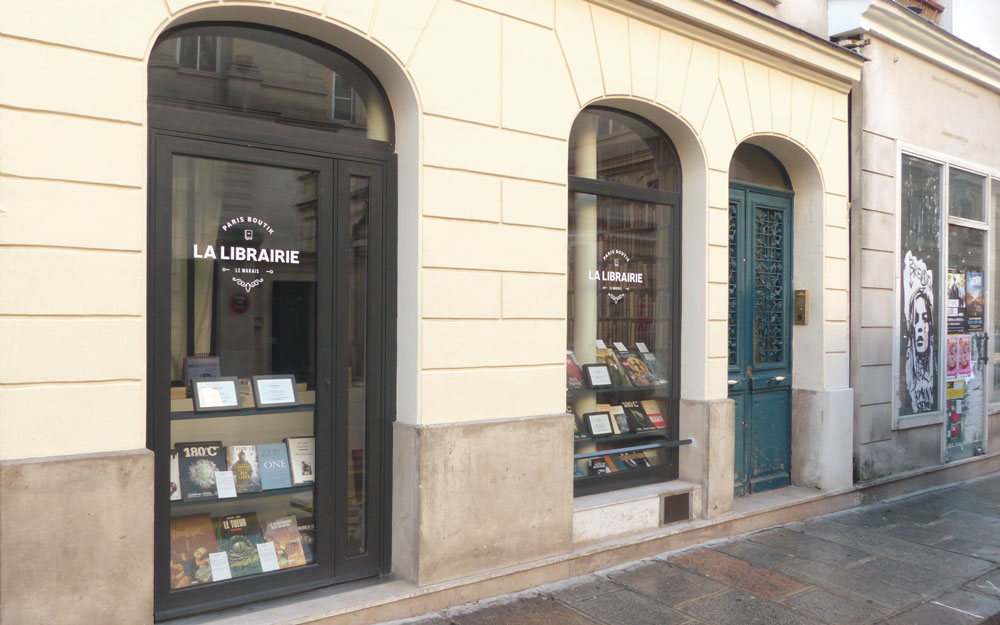 Paris Boutik - façade
