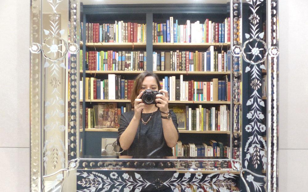 Paris Boutik - Miroir livres Marine Nina