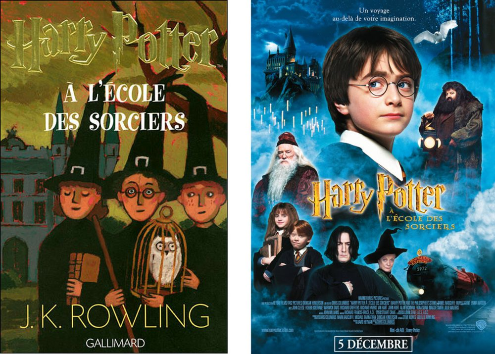 Harry Potter - livre film