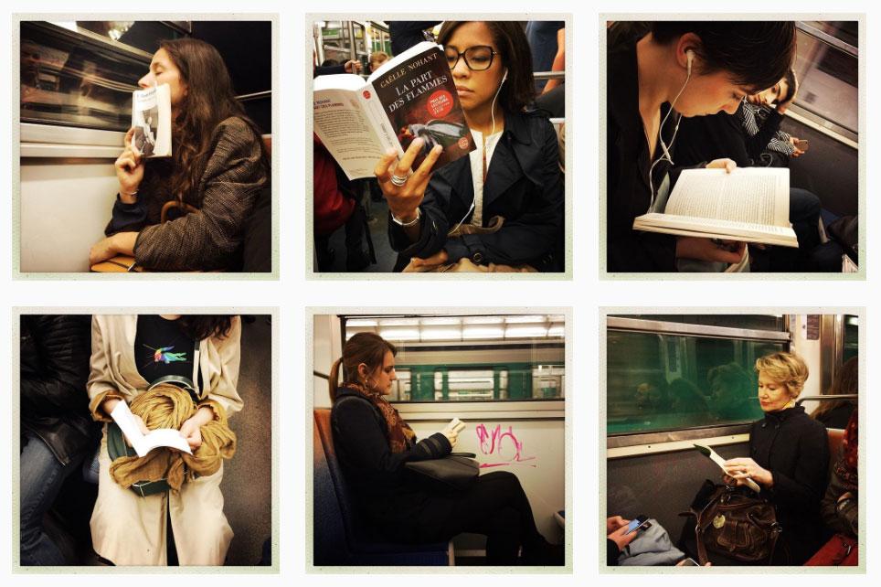 portraits lire metro
