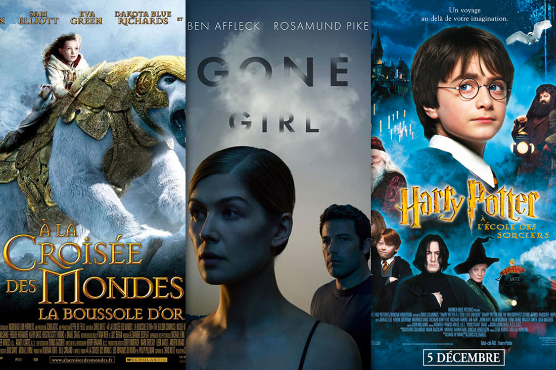 adaptations livres cinema