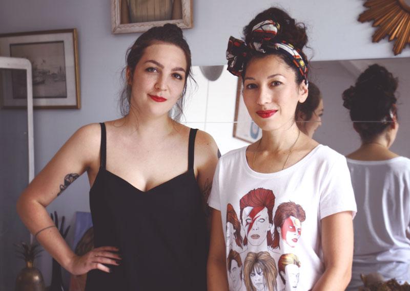Anna Wanda Gogusey et Barbara Silverstone