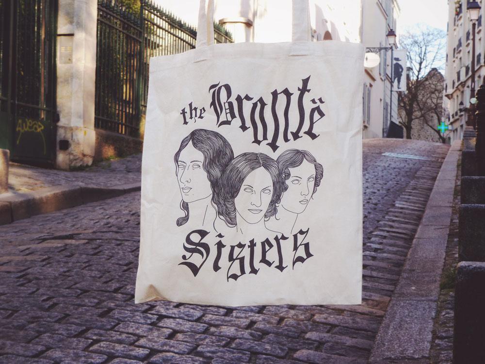 Tote Bag des soeurs Bronte - Unseven