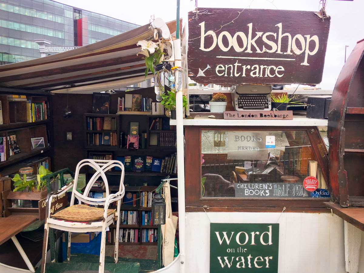 librairie londres - word on the water
