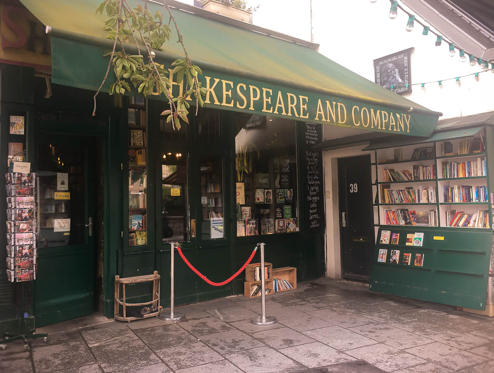 shakespeare and company - librairie Paris