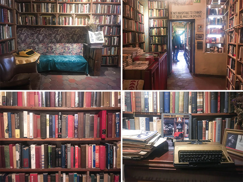 shakespeare and company Paris livres