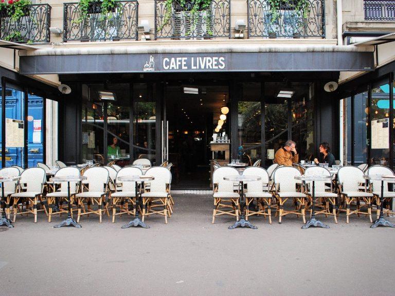 café livres - Paris