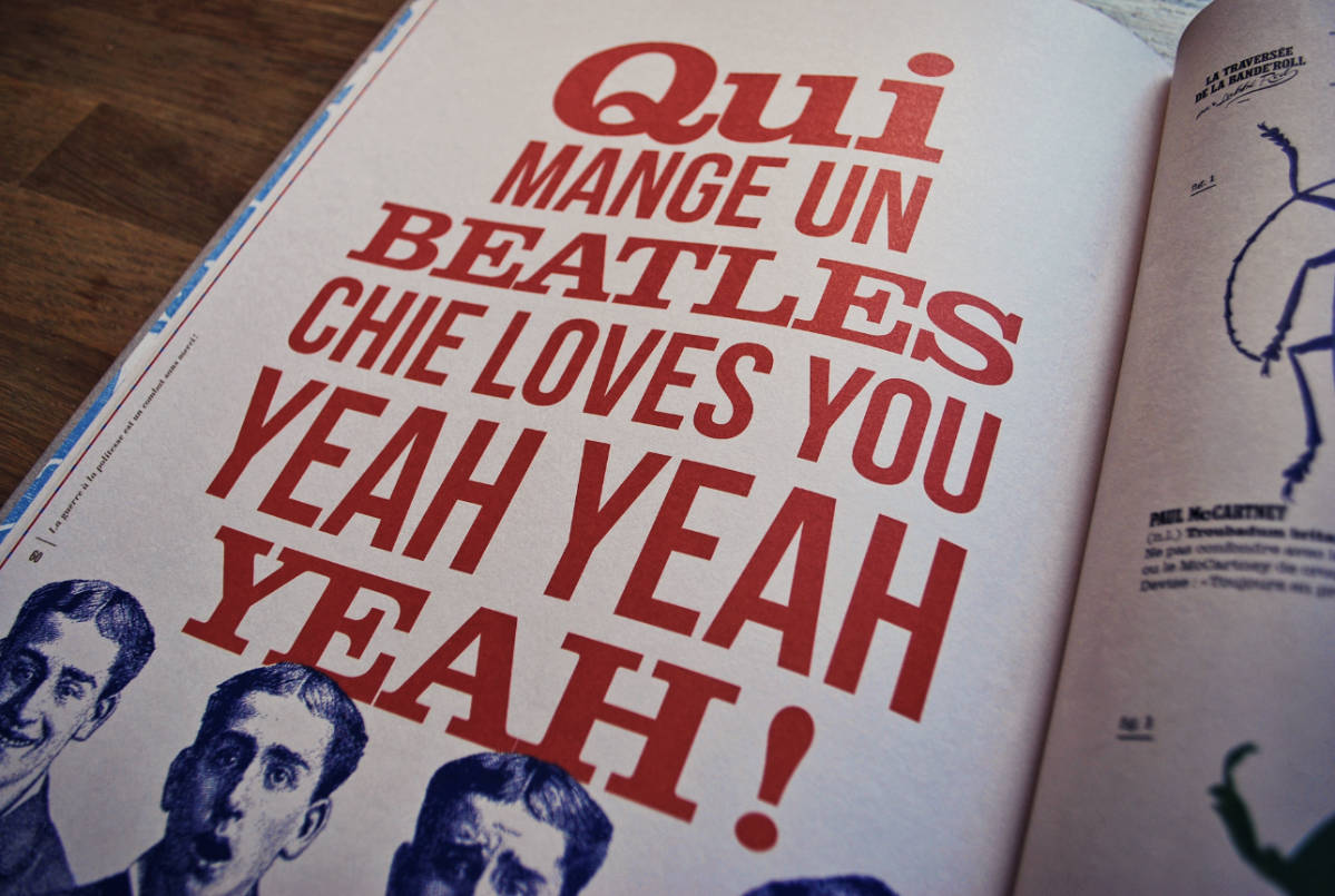 qui mange un beatles chie loves you yeah yeah yeah